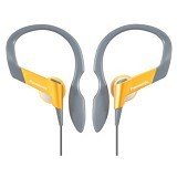 PANASONIC Lightweight Shockwave Sport Clip Earphones [RP-HS33E-Y] - Yellow - Earphone Ear Bud